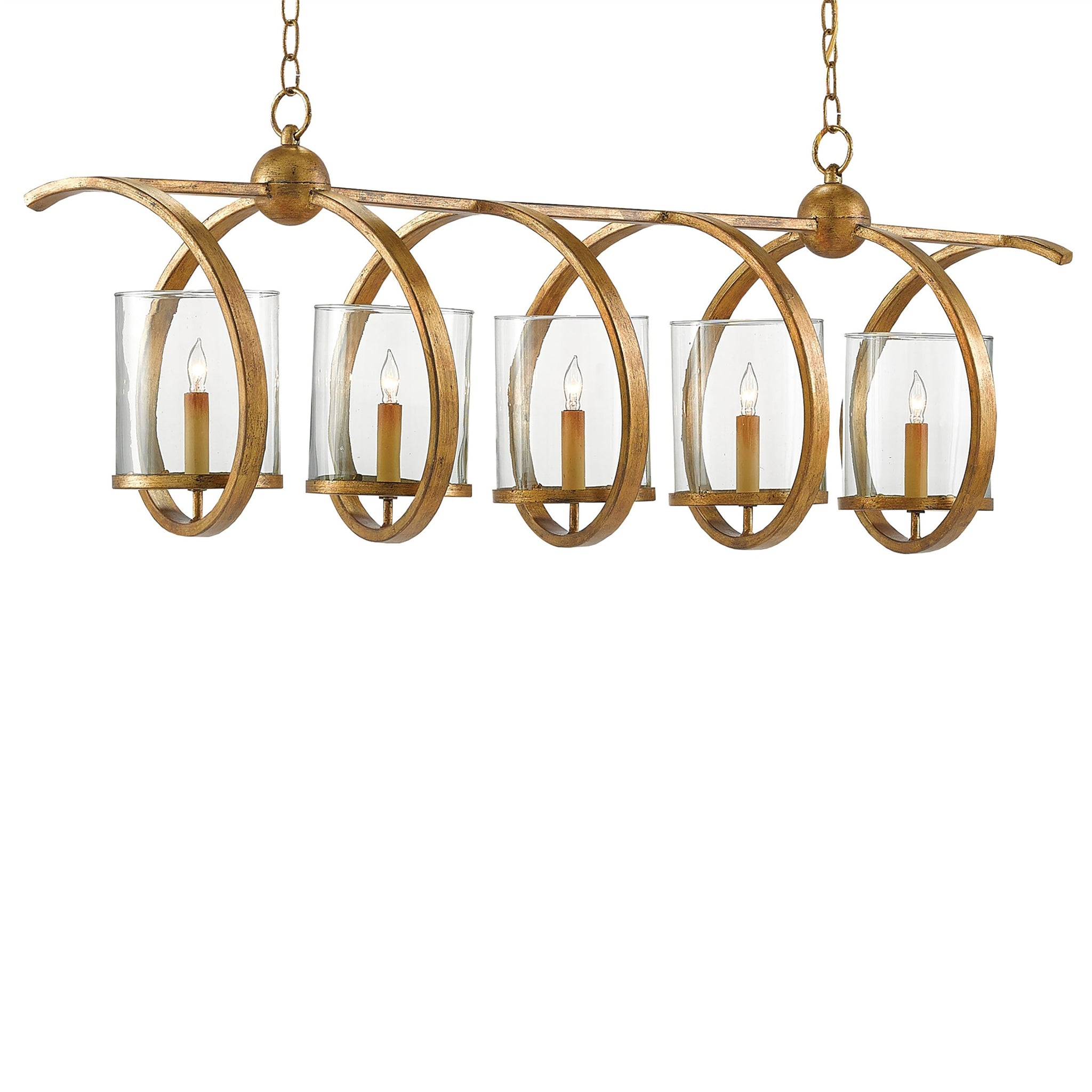 Looped Chandelier