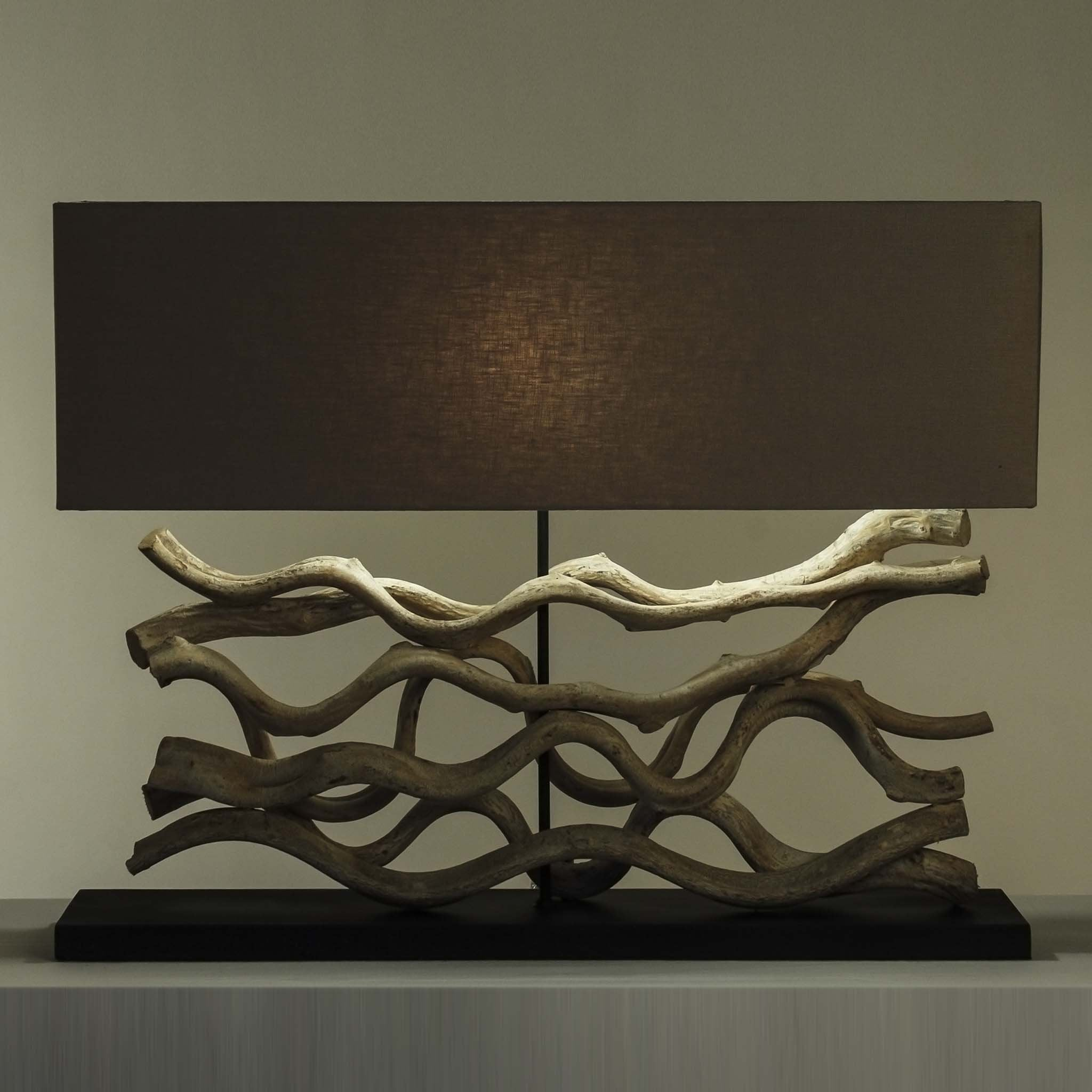 Sculpted Organic Lamp