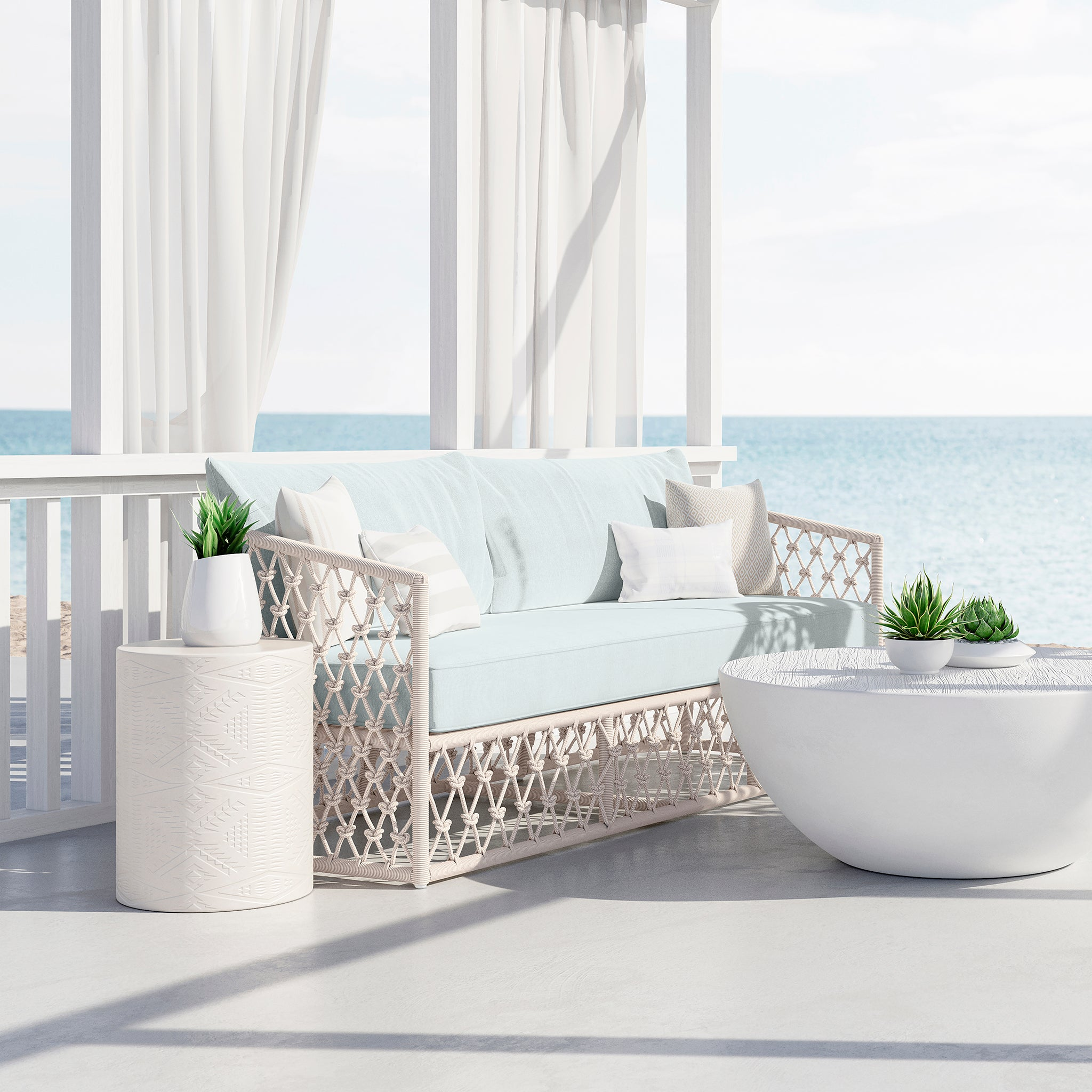 Malibu Patio Sofa