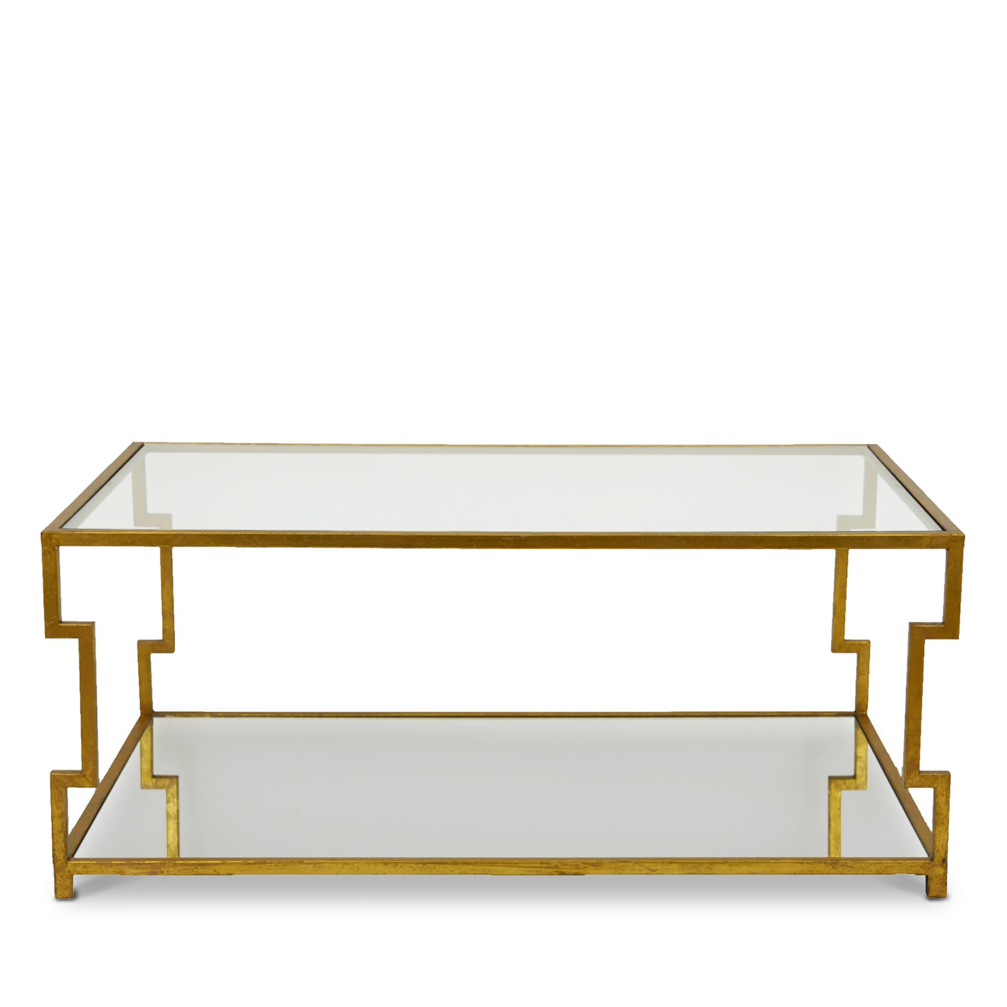Diana Rectangle Coffee Table - Gold