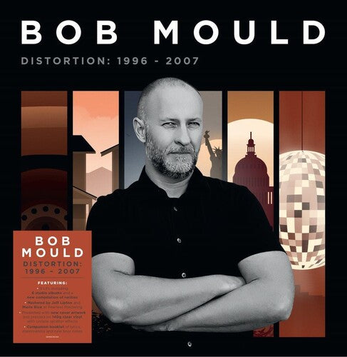 BOB MOULD - DISTORTION: 1996-2007 - SIGNED CLEAR SPLATTER 8xLP
