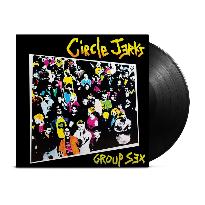 CIRCLE JERKS 'GROUP SEX' - LP