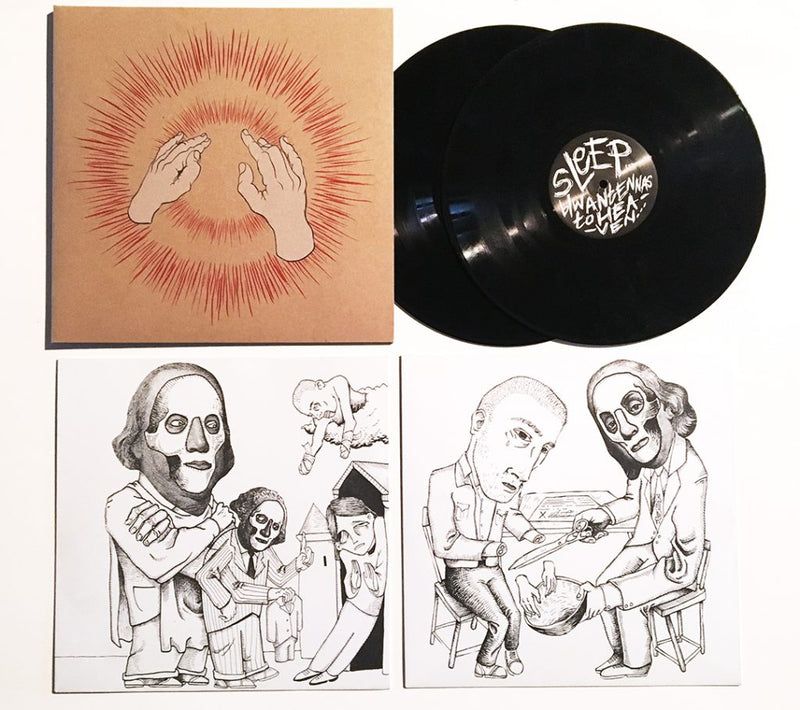 GODSPEED YOU! BLACK EMPEROR 'LIFT YOUR SKINNY FISTS LIKE ANTENNA TO HEAVEN' 2xLP