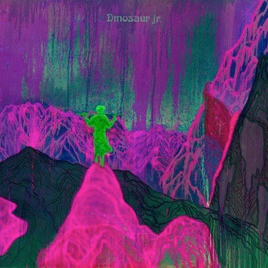 DINOSAUR JR. 'GIVE A GLIMPSE OF WHAT YER NOT' LP