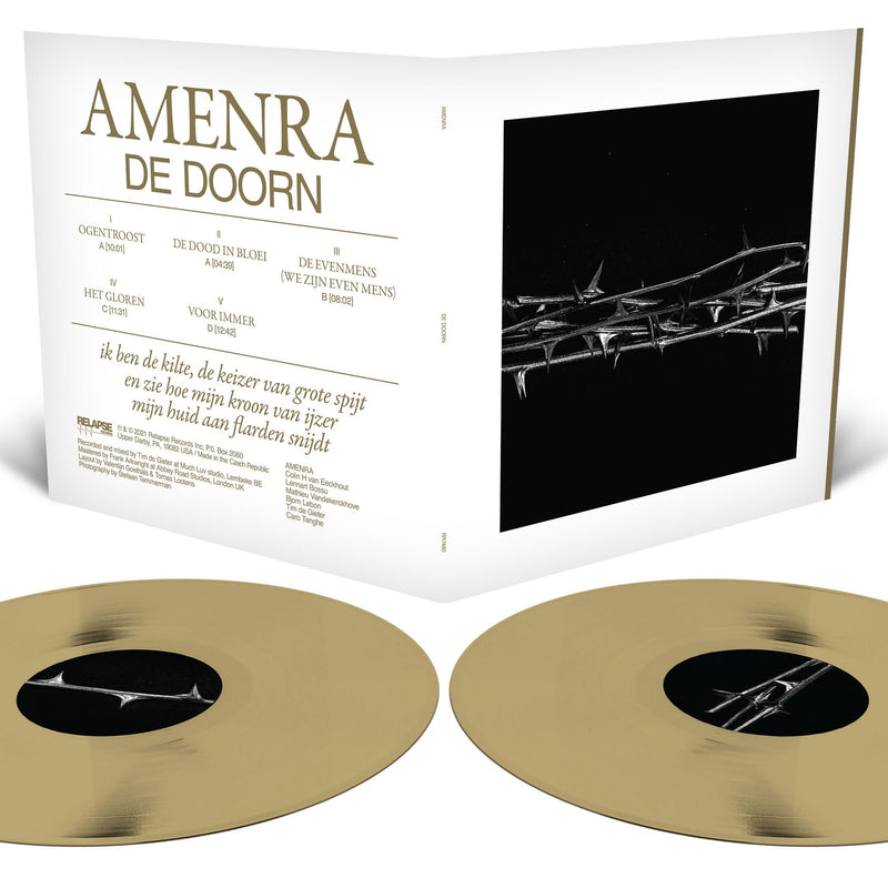 AMENRA 'DE DOORN' LIMITED-EDITION TRANSLUCENT GOLD 2LP