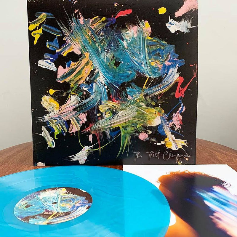 MARTIN GORE 'THE THIRD CHIMPANZEE' EP - AZURE BLUE VINYL