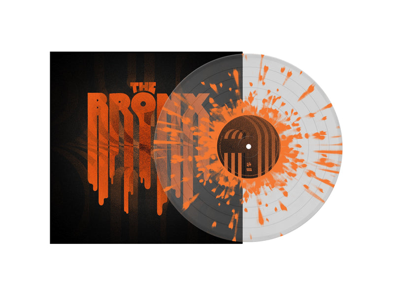 THE BRONX 'THE BRONX VI' LIMITED-EDITION CLEAR WITH ORANGE SPLATTER LP — ONLY 500 MADE