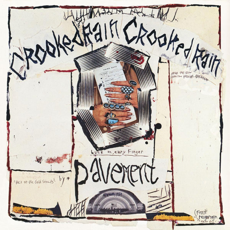 PAVEMENT 'CROOKED RAIN, CROOKED RAIN' LP