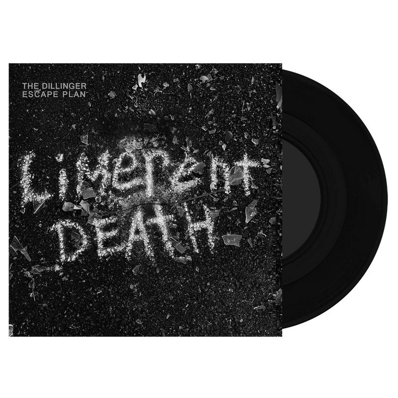 "THE DILLINGER ESCAPE PLAN 'LIMERENT DEATH' BLACK WHITE AND SILVER 7"" BUNDLE"