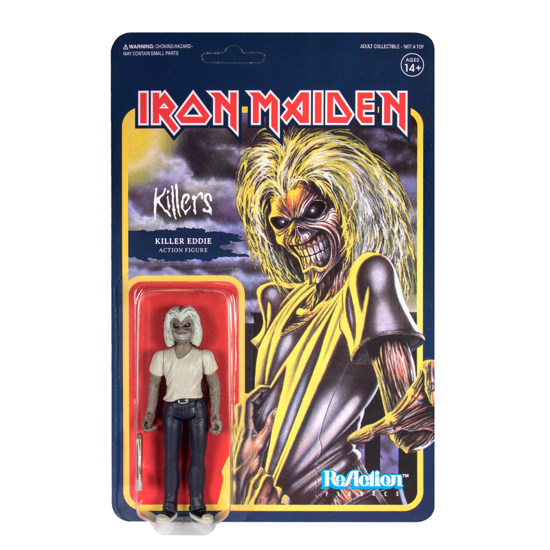 IRON MAIDEN REACTION FIGURE - KILLERS EDDIE