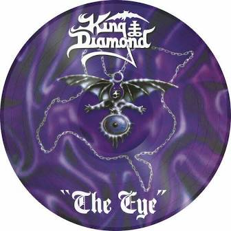 KING DIAMOND 'THE EYE' PICTURE DISC