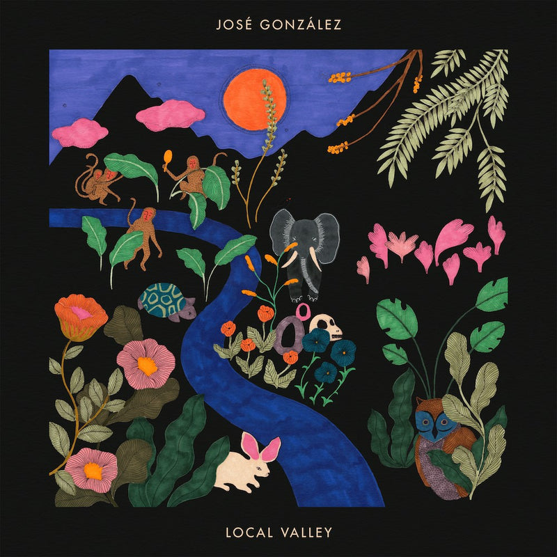JOSE GONZALEZ 'LOCAL VALLEY' LIMITED-EDITION RED LP — ONLY 500 MADE