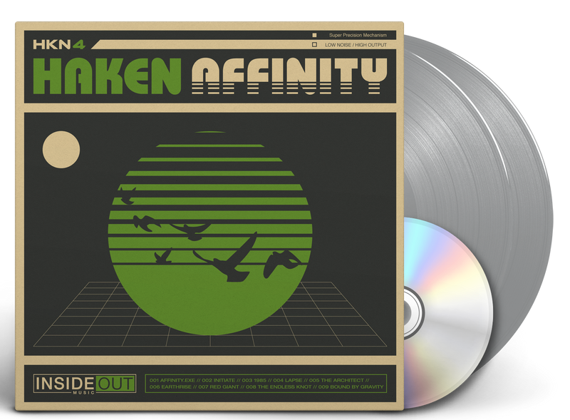 HAKEN 'AFFINITY' LIMITED-EDITION SILVER 2LP — ONLY 200 MADE