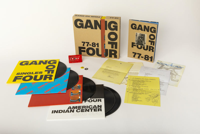 GANG OF FOUR '77-81' LIMITED-EDITION BOX SET