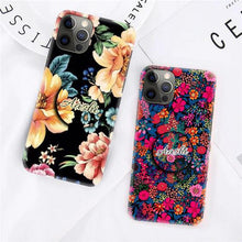Load image into Gallery viewer, The Flower Print Slim Matte Case Cover