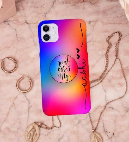 Rainbow Design Hard Matte Phone Case Cover - ShopOnCliQ