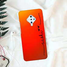 Load image into Gallery viewer, Rainbow Design Slim Hard Matter Cover With Your Name - ShopOnCliQ