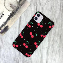 Load image into Gallery viewer, Fruit Print Slim Matte Case - ShopOnCliQ