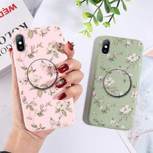 Load image into Gallery viewer, Moskado Colorful Floral Leaves Phone Case Cover - ShopOnCliQ