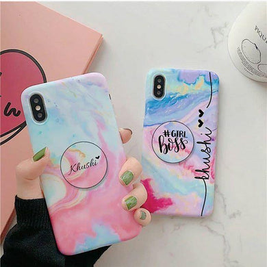 Rainbow Name Slim Matte Case - ShopOnCliQ