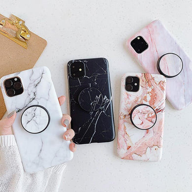 Marble Pattern Slim Matte Phone Case Cover - ShopOnCliQ
