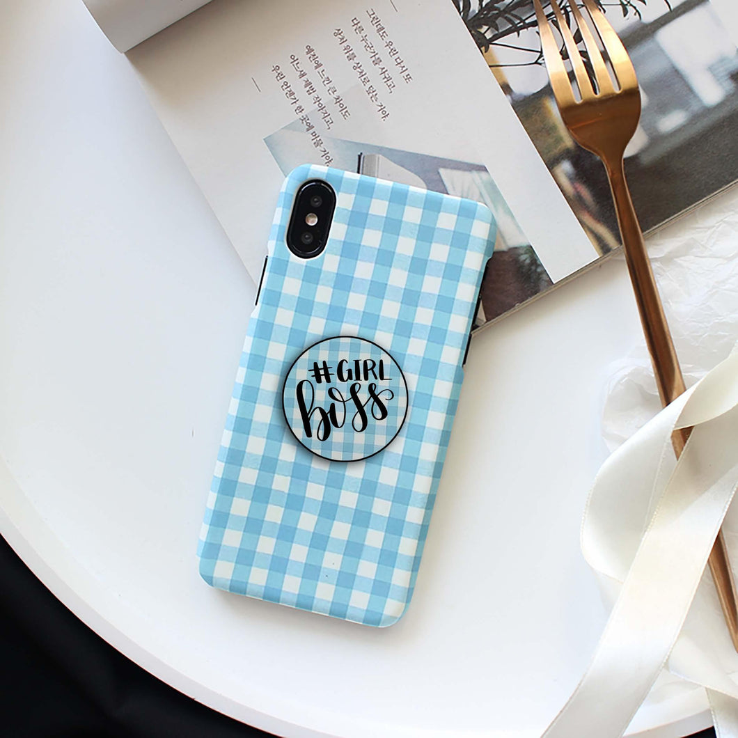 Check Print Slim Case Cover - ShopOnCliQ