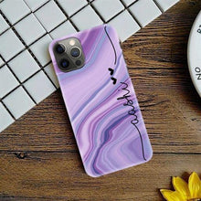 Load image into Gallery viewer, Flotterring Marble Effect Phone Case Covers - ShopOnCliQ