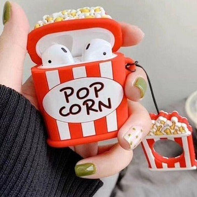 Popcorn Silicone Protective Shockproof Case & Cover For Apple Airpods - ShopOnCliQ