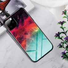 Load image into Gallery viewer, Moon Galaxy Glass Phone Case - ShopOnCliQ