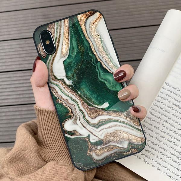 The Golden Floating  Glass  Phone Case And Cover - ShopOnCliQ