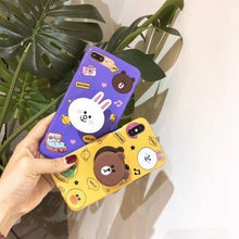 Load image into Gallery viewer, The Cute Bear And Bunny  Design Slim Phone  Case Cover - ShopOnCliQ