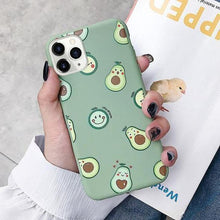 Load image into Gallery viewer, Cute Avocado Slim Matte Case - ShopOnCliQ