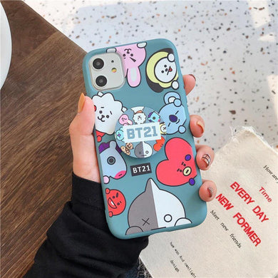 Cute Bt21 Slim Case Cover - ShopOnCliQ