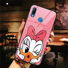 Load image into Gallery viewer, Cute Cartoon Glass Case Cover - ShopOnCliQ