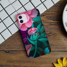 Load image into Gallery viewer, Magenta flower Slim Phone Case Cover - ShopOnCliQ