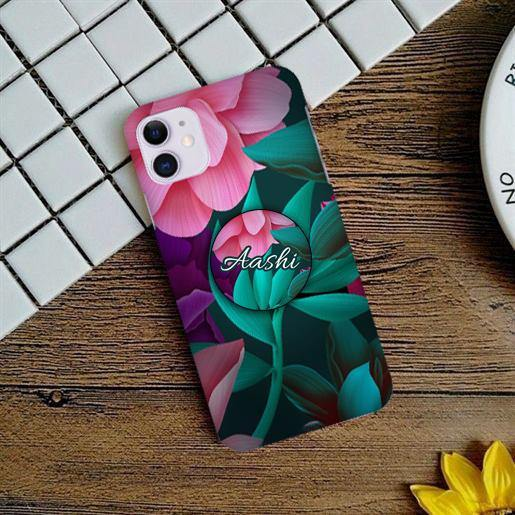 Magenta flower Slim Phone Case Cover - ShopOnCliQ