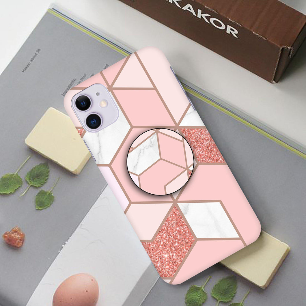 Green & Pink Marble Slim Case Cover - ShopOnCliQ