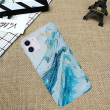 Load image into Gallery viewer, Ocean Waves Marble Texture Phone Case Cover - ShopOnCliQ