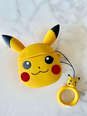 Pikachu Silicon  Airpods Case And Cover  For Apple Air pods - ShopOnCliQ