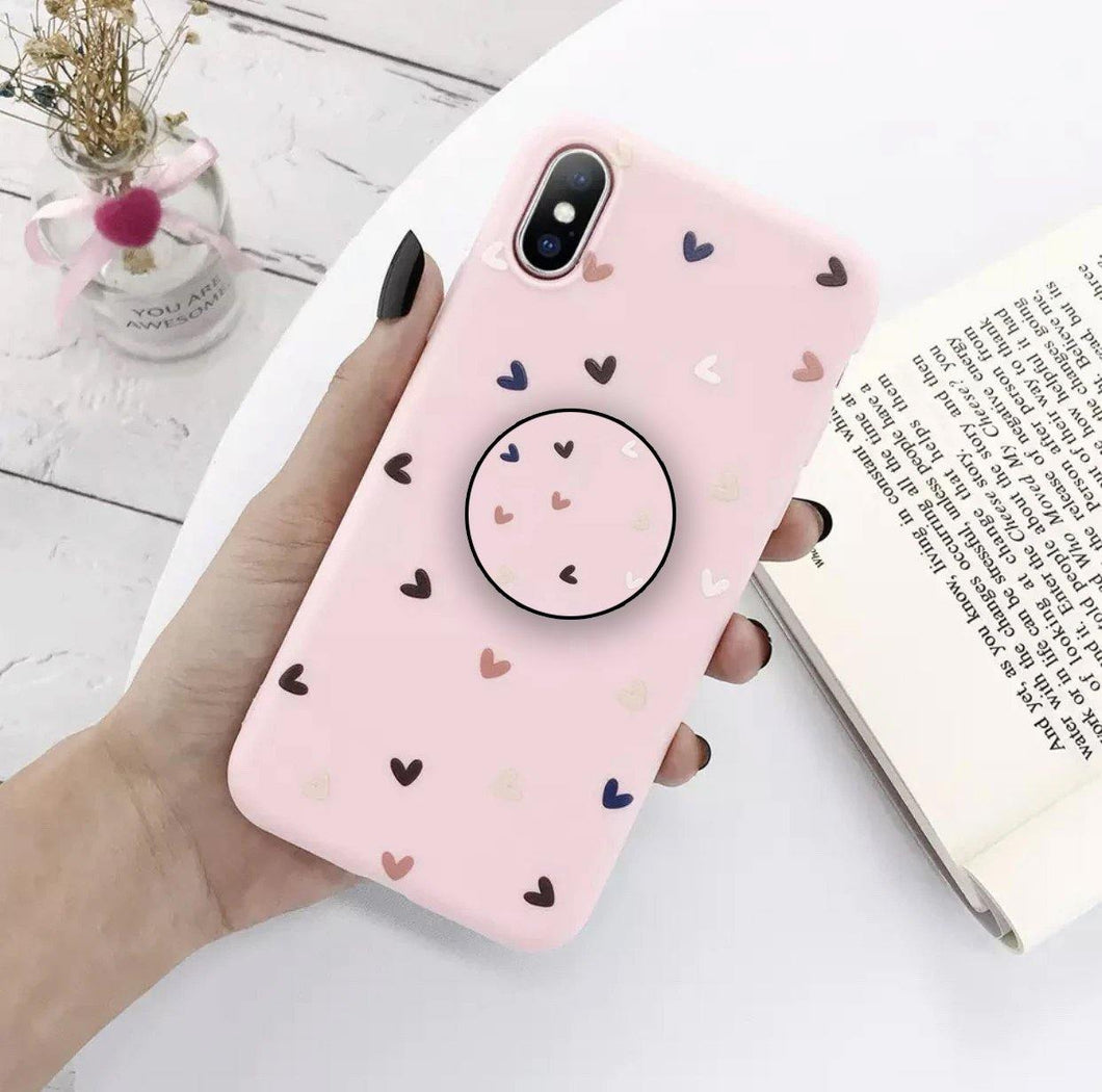 Lovely Hearts Pattern Slim Case Cover - ShopOnCliQ