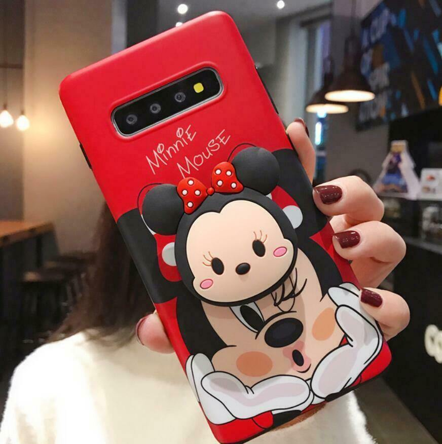 Mickey & Minnie Mouse Slim Matte Case Cover - ShopOnCliQ