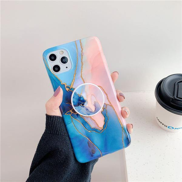 Marble With Golden Print Effect Phone Case And Cover - ShopOnCliQ