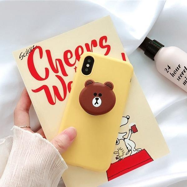 Lovely Bear Brown Bunny Cony Phone Case And Cover - ShopOnCliQ