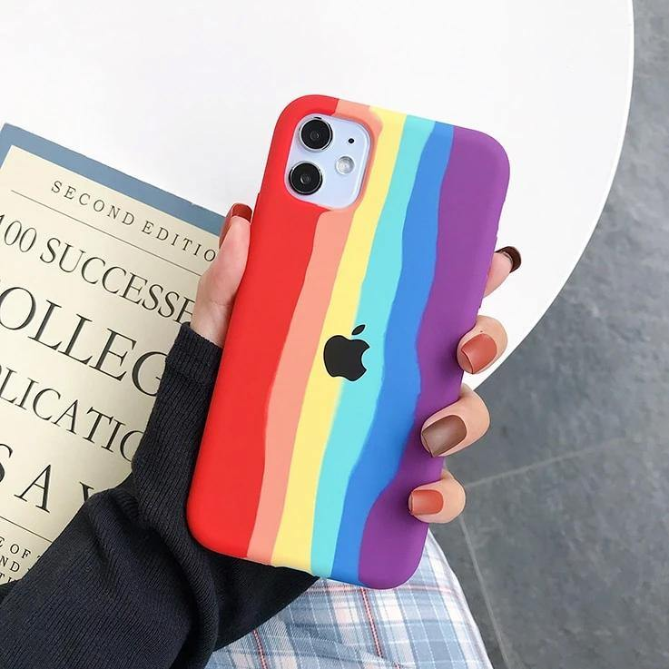 iPhone  Liquid  Silicon  Case (Pride Edition) - ShopOnCliQ