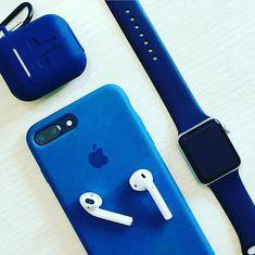 iPhone  Liquid  Silicon  Case (Royal Blue) - ShopOnCliQ