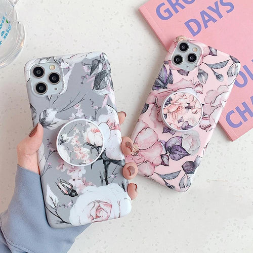 Floral Shades Phone Cover With Holder - ShopOnCliQ