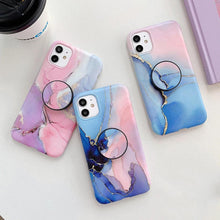 Load image into Gallery viewer, Multicolour Gradeint Marble Phone Case And Cover - ShopOnCliQ