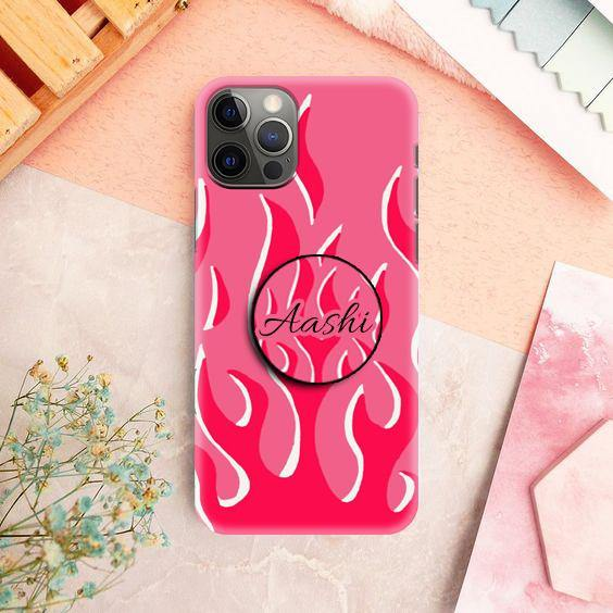 Flame Design Phone Case & Cover
