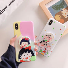 Load image into Gallery viewer, Shinchan And Nene Slim Case Cover - ShopOnCliQ
