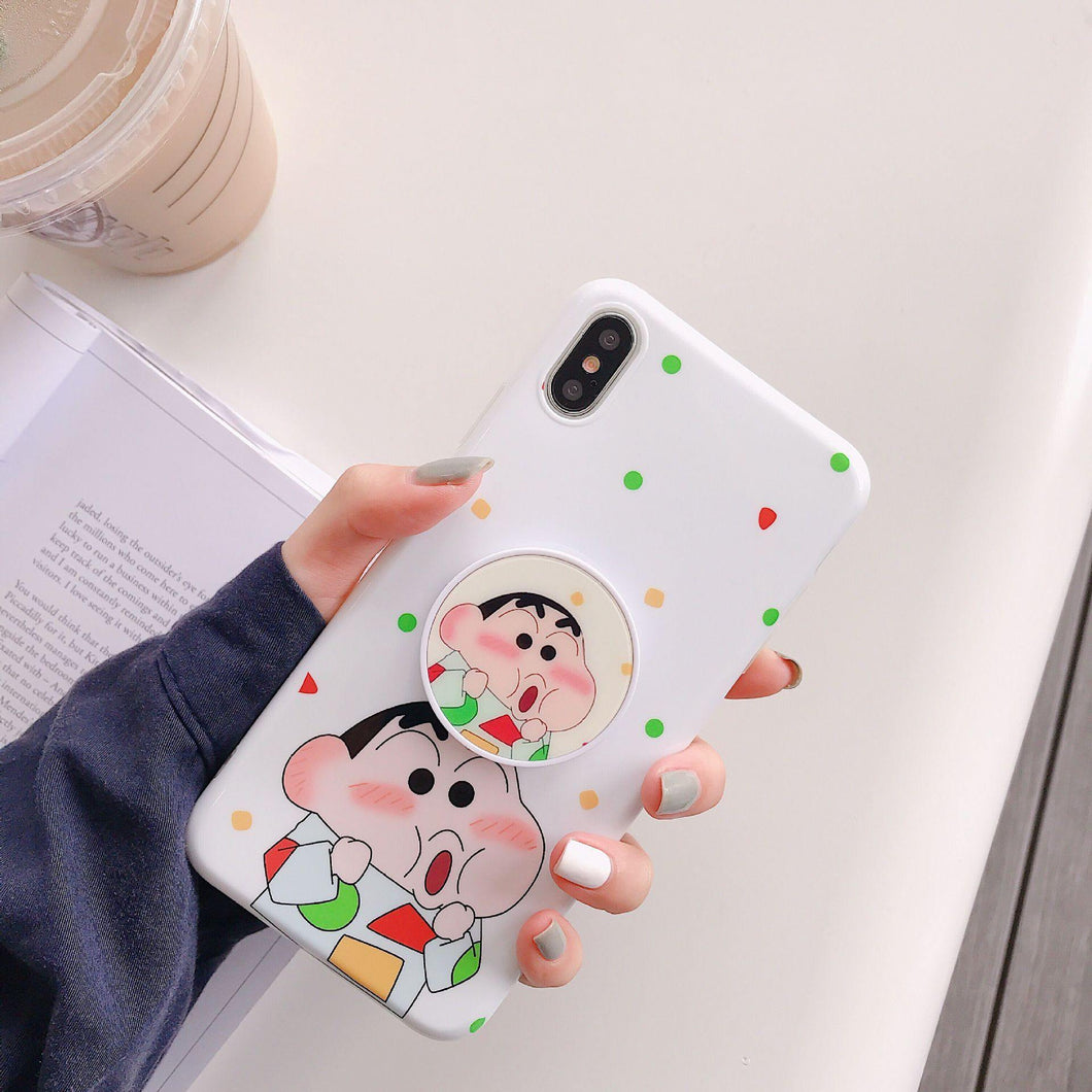Shinchan And Nene Slim Case Cover - ShopOnCliQ